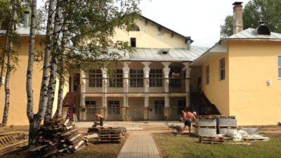 культурный дворик