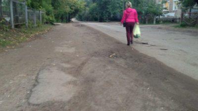Тротуар на Рухлядьева