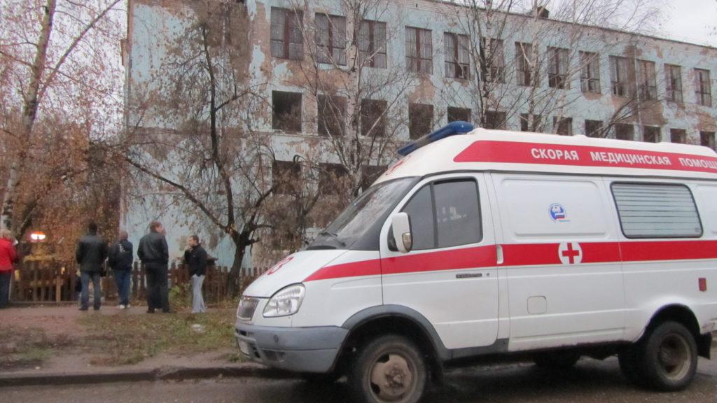 обрушение в Нововятске