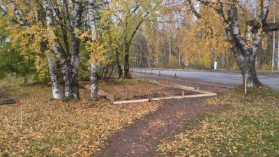 строительство киоска на Парковой