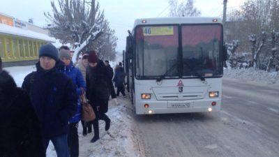 Пожар в 46автобусе