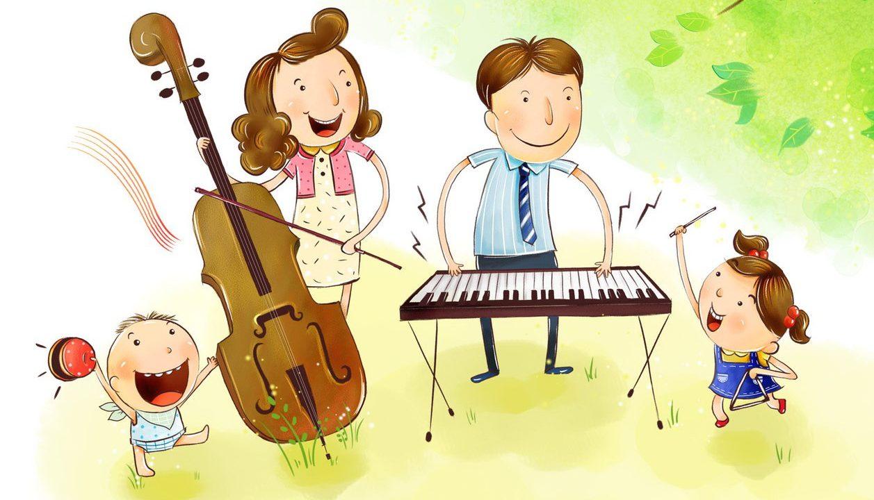 Детские музыка для детских конкурсов
