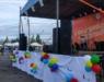 В Радужном отметили тройной праздник: День микрорайона, День физкультурника и День строителя